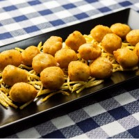 Croquetas caseras de jamón ibérico