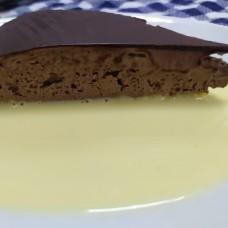 Tarta de Trufa y Natilla ligera